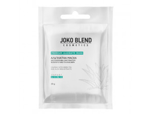 Альгінатна маска заспокійлива з екстрактом зеленого чаю і алое вера 20 г Joko Blend  Mask