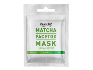 Маска для обличчя Matcha Facetox Mask Joko Blend 20 гр
