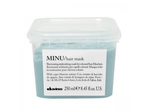 Восстанавливающая маска для окрашенных волос 250мл Davines Essential Haircare New Minu Hair Mask