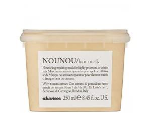 Восстанавливающая маска для глубокого питания волос 250мл  Davines Essential Haircare NouNou Hair Masc 250ml