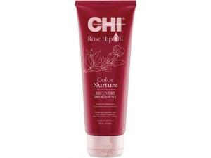 Восстанавливающая маска для окрашенных волос CHI Rose Hip Oil Color Nurture Recovery Treatment 236ml