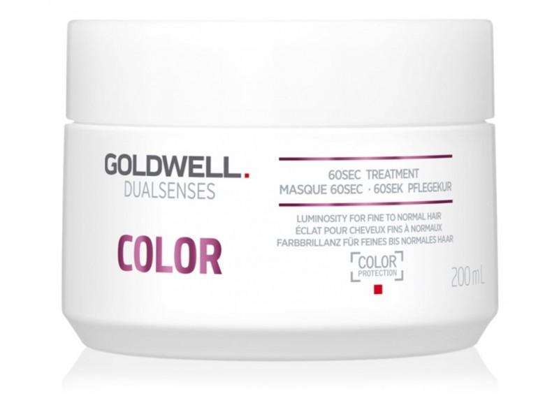 """Маска для блеска окрашенных волос """"60 секунд"""" Goldwell Dualsenses Color 60 sec"""