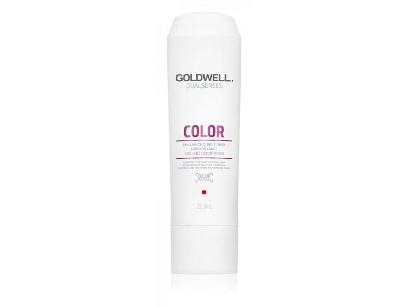 Кондиционер для тонких окрашенных волос Goldwell Dualsenses Color Brilliance Conditioner 200 мл