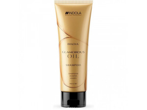 Шампунь для блеска волос Indola Innova Glamorous Oil Shampoo 250 ml