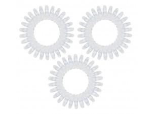 Резинка-браслет для волос прозрачная -  Original Crystal Clear 3 шт