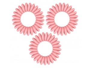 Резинка-браслет для волос розовоя - Original rose muse 3 шт
