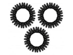 Резинка-браслет для волос черная  Original True Black