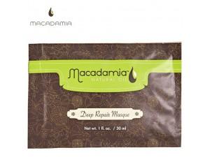 Восстанавливающая маска для волос - Macadamia Deep Repair Masque 30 мл
