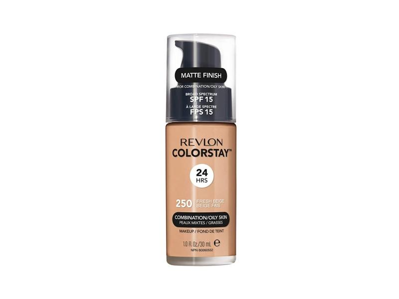 Тональный крем для комбинированой и жирной кожи лица Revlon Colorstay Makeup 250 Fresh Beige 30 мл