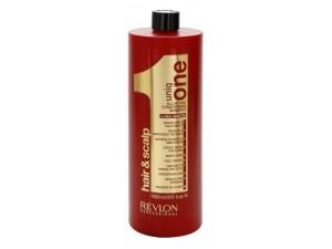 Безсульфатный бальзам-шампунь REVLON Professional Uniq One Conditioning Shampoo