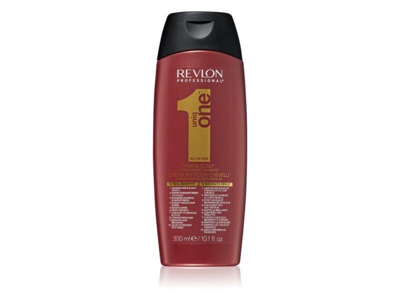 Безсульфатный бальзам-шампунь REVLON Professional Uniq One Conditioning Shampoo 300мл
