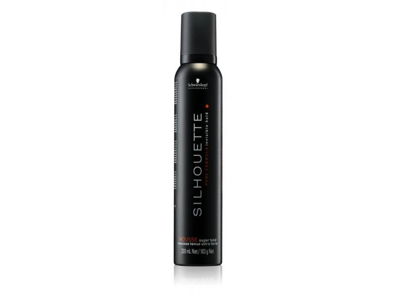 Мусс для укладки волос сильной фиксации Schwarzkopf Professional  SILHOUETTE Mousse Super Hold 200ml
