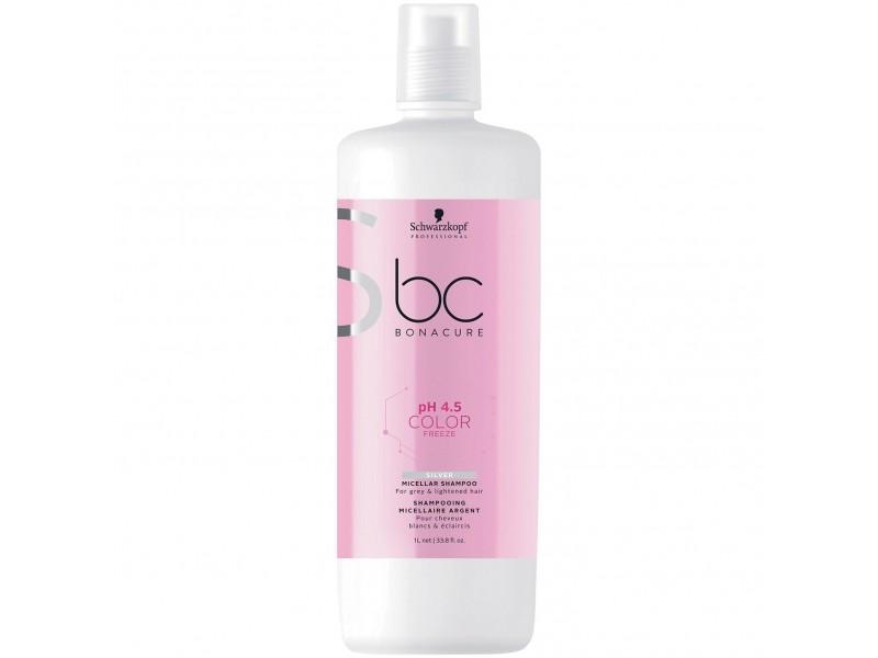 Шампунь для осветленных и седых Schwarzkopf Professional BC Bonacure Color Freeze Silver Shampoo
