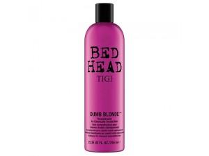Восстанавливающий кондиционер для поврежденных волос Tigi Bed Head Dumb Blonde Conditioner 750 мл